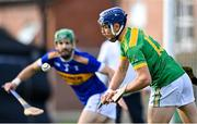 10 October 2021; Chrissy McMahon of Dunloy during the Antrim County Senior Club Hurling Championship Final match between Dunloy and O'Donovan Rossa at Corrigan Park in Belfast. Photo by Ramsey Cardy/Sportsfile