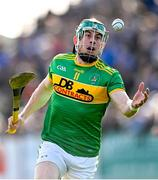 10 October 2021; Kevin Molloy of Dunloy during the Antrim County Senior Club Hurling Championship Final match between Dunloy and O'Donovan Rossa at Corrigan Park in Belfast. Photo by Ramsey Cardy/Sportsfile