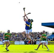 10 October 2021; Gerard Walsh of O'Donovan Rossa in action against Conal Cunning of Dunloy during the Antrim County Senior Club Hurling Championship Final match between Dunloy and O'Donovan Rossa at Corrigan Park in Belfast. Photo by Ramsey Cardy/Sportsfile