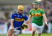 10 October 2021; Tiarnán Murphy of O'Donovan Rossa in action against Kevin Molloy of Dunloy during the Antrim County Senior Club Hurling Championship Final match between Dunloy and O'Donovan Rossa at Corrigan Park in Belfast. Photo by Ramsey Cardy/Sportsfile