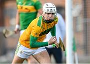 10 October 2021; Dunloy goalkeeper Ryan Elliott during the Antrim County Senior Club Hurling Championship Final match between Dunloy and O'Donovan Rossa at Corrigan Park in Belfast. Photo by Ramsey Cardy/Sportsfile