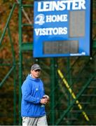 11 October 2021; Contact skills coach Denis Leamy during a Leinster Rugby squad training session at UCD in Dublin. Photo by Harry Murphy/Sportsfile