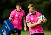 11 October 2021; James Tracy during a Leinster Rugby squad training session at UCD in Dublin. Photo by Harry Murphy/Sportsfile