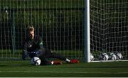11 October 2021; Goalkeeper Caoimhin Kelleher during a Republic of Ireland training session at the FAI National Training Centre in Abbotstown, Dublin. Photo by Stephen McCarthy/Sportsfile