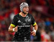25 September 2021; Fineen Wycherley of Munster during the warm-up before the United Rugby Championship match between Munster and Cell C Sharks at Thomond Park in Limerick.  Photo by Piaras Ó Mídheach/Sportsfile