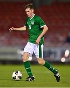 10 October 2021; Justin Ferizaj of Republic of Ireland during the UEFA U17 Championship Qualifying Round Group 5 match between Republic of Ireland and North Macedonia at Turner's Cross in Cork. Photo by Eóin Noonan/Sportsfile