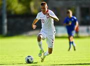 10 October 2021; Kacper Terlecki of Poland during the UEFA U17 Championship Qualifying Round Group 5 match between Poland and Andorra at The Mardyke in Cork. Photo by Eóin Noonan/Sportsfile