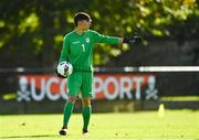 10 October 2021; Diego Mendes Meireles of Andorra during the UEFA U17 Championship Qualifying Round Group 5 match between Poland and Andorra at The Mardyke in Cork. Photo by Eóin Noonan/Sportsfile