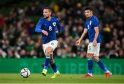 12 October 2021; Conor Hourihane of Republic of Ireland during the international friendly match between Republic of Ireland and Qatar at Aviva Stadium in Dublin. Photo by Stephen McCarthy/Sportsfile