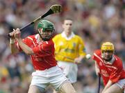 17 March 2004; Jerry O'Connor, Newtownshandrum. AIB All-Ireland Club Hurling Final, Newtownshandrum v Dunloy, Croke Park, Dublin, Picture credit; Brendan Moran / SPORTSFILE   *EDI*