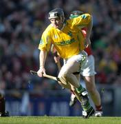 17 March 2004; Gregory O'Kane, Dunloy. AIB All-Ireland Club Hurling Final, Newtownshandrum v Dunloy, Croke Park, Dublin, Picture credit; Brendan Moran / SPORTSFILE   *EDI*