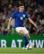 12 October 2021; Jamie McGrath of Republic of Ireland during the international friendly match between Republic of Ireland and Qatar at Aviva Stadium in Dublin. Photo by Stephen McCarthy/Sportsfile