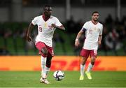 12 October 2021; Almoez Ali of Qatar during the international friendly match between Republic of Ireland and Qatar at Aviva Stadium in Dublin. Photo by Stephen McCarthy/Sportsfile