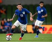 12 October 2021; Jeff Hendrick of Republic of Ireland during the international friendly match between Republic of Ireland and Qatar at Aviva Stadium in Dublin. Photo by Stephen McCarthy/Sportsfile