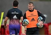 13 October 2021; Forwards coach Graham Rowntree during Munster rugby squad training at the University of Limerick in Limerick. Photo by Brendan Moran/Sportsfile