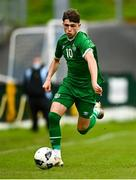 13 October 2021; Rocco Vata of Republic of Ireland during the UEFA U17 Championship Qualifying Round Group 5 match between Republic of Ireland and Poland at Turner's Cross in Cork. Photo by Eóin Noonan/Sportsfile
