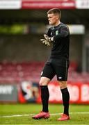 13 October 2021; Republic of Ireland goalkeeper Conor Walsh during the UEFA U17 Championship Qualifying Round Group 5 match between Republic of Ireland and Poland at Turner's Cross in Cork. Photo by Eóin Noonan/Sportsfile