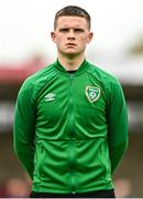 13 October 2021; Conor Walsh of Republic of Ireland before the UEFA U17 Championship Qualifying Round Group 5 match between Republic of Ireland and Poland at Turner's Cross in Cork. Photo by Eóin Noonan/Sportsfile