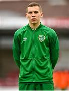13 October 2021; Darius Lipsiuc of Republic of Ireland before the UEFA U17 Championship Qualifying Round Group 5 match between Republic of Ireland and Poland at Turner's Cross in Cork. Photo by Eóin Noonan/Sportsfile