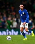 12 October 2021; Conor Hourihane of Republic of Ireland during the international friendly match between Republic of Ireland and Qatar at Aviva Stadium in Dublin. Photo by Eóin Noonan/Sportsfile