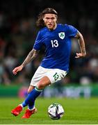 12 October 2021; Jeff Hendrick of Republic of Ireland during the international friendly match between Republic of Ireland and Qatar at Aviva Stadium in Dublin. Photo by Eóin Noonan/Sportsfile