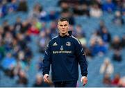 16 October 2021; Jonathan Sexton of Leinster before the United Rugby Championship match between Leinster and Scarlets at the RDS Arena in Dublin. Photo by Seb Daly/Sportsfile