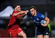 16 October 2021; Rónan Kelleher of Leinster in action against Wyn Jones of Scarlets during the United Rugby Championship match between Leinster and Scarlets at the RDS Arena in Dublin. Photo by Seb Daly/Sportsfile