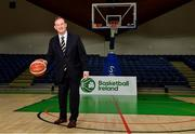 18 October 2021; John Feehan at the National Basketball Arena in Dublin after being announced as the new CEO of Basketball Ireland. Photo by Sam Barnes/Sportsfile