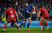 16 October 2021; James Ryan of Leinster during the United Rugby Championship match between Leinster and Scarlets at the RDS Arena in Dublin. Photo by Ramsey Cardy/Sportsfile