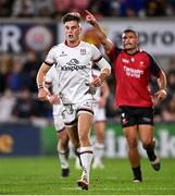 15 October 2021; Ethan McIlroy of Ulster during the United Rugby Championship match between Ulster and Emirates Lions at Kingspan Stadium in Belfast. Photo by Ramsey Cardy/Sportsfile