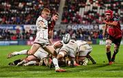 15 October 2021; Nathan Doak of Ulster during the United Rugby Championship match between Ulster and Emirates Lions at Kingspan Stadium in Belfast. Photo by Ramsey Cardy/Sportsfile