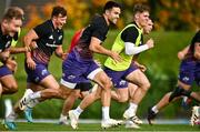 19 October 2021; Conor Murray during Munster rugby squad training at the University of Limerick in Limerick. Photo by Sam Barnes/Sportsfile