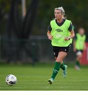 19 October 2021; Savannah McCarthy during a Republic of Ireland training session at the FAI National Training Centre in Abbotstown, Dublin. Photo by Stephen McCarthy/Sportsfile