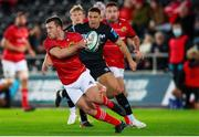 23 October 2021; Matt Gallagher of Munster during the United Rugby Championship match between Ospreys and Munster at Liberty Stadium in Swansea, Wales. Photo by Gruffydd Thomas/Sportsfile
