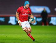 23 October 2021; Tadhg Beirne of Munster during the United Rugby Championship match between Ospreys and Munster at Liberty Stadium in Swansea, Wales. Photo by Gruffydd Thomas/Sportsfile