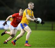 23 October 2021; Sean Holmes of Knockmore during the Mayo County Senior Club Football Championship Quarter-Final match between Ballintubber and Knockmore at Connacht GAA Centre in Bekan, Mayo. Photo by Matt Browne/Sportsfile