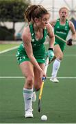 24 October 2021; Sarah Torrans of Ireland during the FIH Women's World Cup European Qualifier Final match between Ireland and Wales at Pisa in Italy. Photo by Roberto Bregani/Sportsfile