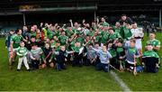 24 October 2021; Kilmallock players and supporters celebrate with the cup after the Limerick County Senior Club Hurling Championship Final match between Kilmallock and Patrickswell at TUS Gaelic Grounds in Limerick. Photo by Piaras Ó Mídheach/Sportsfile