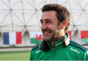 24 October 2021; Ireland head coach Sean Dancer after the FIH Women's World Cup European Qualifier Final match between Ireland and Wales at Pisa in Italy. Photo by Roberto Bregani/Sportsfile