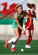 24 October 2021;  Chloe Watkins of Ireland during the FIH Women's World Cup European Qualifier Final match between Ireland and Wales at Pisa in Italy. Photo by Roberto Bregani/Sportsfile