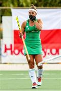 24 October 2021; Elena Tice of Ireland during the FIH Women's World Cup European Qualifier Final match between Ireland and Wales at Pisa in Italy. Photo by Roberto Bregani/Sportsfile