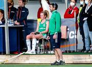 24 October 2021; Sean Dancer Head Coach of Ireland during the FIH Women's World Cup European Qualifier Final match between Ireland and Wales at Pisa in Italy. Photo by Roberto Bregani/Sportsfile