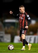 25 October 2021; Keith Ward of Bohemians during the SSE Airtricity League Premier Division match between Bohemians and Waterford at Dalymount Park in Dublin. Photo by Seb Daly/Sportsfile