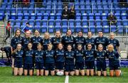 26 October 2021; The Metro team before the Sarah Robinson Cup First Round match between South East and Metro at Energia Park in Dublin. Photo by David Fitzgerald/Sportsfile