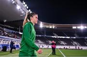 26 October 2021; Jamie Finn of Republic of Ireland before the FIFA Women's World Cup 2023 qualifying group A match between Finland and Republic of Ireland at Helsinki Olympic Stadium in Helsinki, Finland. Photo by Stephen McCarthy/Sportsfile