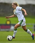 26 October 2021; Ellen Molloy of Republic of Ireland during the UEFA Women's U19 Championship Qualifier Group 5 Qualifying Round 1 League A match between Northern Ireland and Republic of Ireland at Jackman Park in Markets Field, Limerick. Photo by Eóin Noonan/Sportsfile