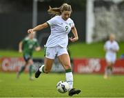 26 October 2021; Rebecca Watkins of Republic of Ireland during the UEFA Women's U19 Championship Qualifier Group 5 Qualifying Round 1 League A match between Northern Ireland and Republic of Ireland at Jackman Park in Markets Field, Limerick. Photo by Eóin Noonan/Sportsfile