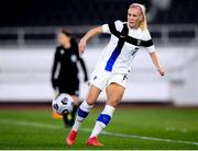 26 October 2021; Adelina Engman of Finland during the FIFA Women's World Cup 2023 qualifying group A match between Finland and Republic of Ireland at Helsinki Olympic Stadium in Helsinki, Finland. Photo by Stephen McCarthy/Sportsfile