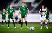 26 October 2021; Heather Payne of Republic of Ireland during the FIFA Women's World Cup 2023 qualifying group A match between Finland and Republic of Ireland at Helsinki Olympic Stadium in Helsinki, Finland. Photo by Stephen McCarthy/Sportsfile