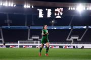 26 October 2021; Katie McCabe of Republic of Ireland during the FIFA Women's World Cup 2023 qualifying group A match between Finland and Republic of Ireland at Helsinki Olympic Stadium in Helsinki, Finland. Photo by Stephen McCarthy/Sportsfile